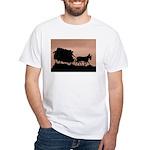 Wagon Train White T-Shirt