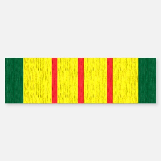 Vietnam Veteran Flag Sticker (Bumper)
