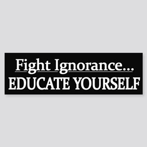 Educate Yourself - Sticker