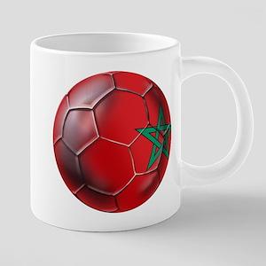 Moroccan Soccer Ball 20 oz Ceramic Mega Mug