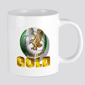 Nigerian Football Gold 20 oz Ceramic Mega Mug