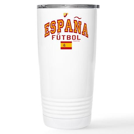 Espana Futbol/Spain Soccer Stainless Steel Travel