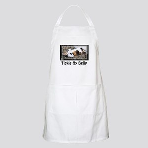 Tickle my Belly Calico Cat Apron
