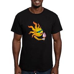 Sun 'n' Ice Cream Men's Fitted T-Shirt (dark)
