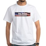 One nation indivisible White T-Shirt