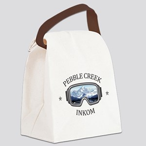 Pebble Creek - Inkom - Idaho Canvas Lunch Bag