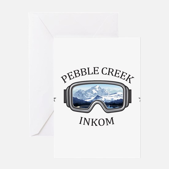 Pebble Creek - Inkom - Idaho Greeting Cards
