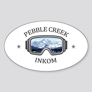 Pebble Creek - Inkom - Idaho Sticker