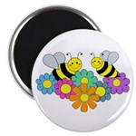 Bees & Flowers Magnet