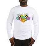 Bees & Flowers Long Sleeve T-Shirt