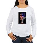 LAND OF THE FREE Women's Long Sleeve T-Shirt