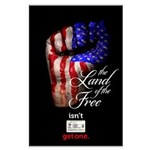 LAND OF THE FREE Large Poster