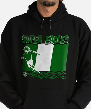 Super Eagles of Nigeria Hoodie (dark)