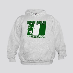 Super Eagles of Nigeria Kids Hoodie