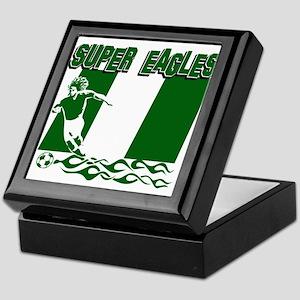 Super Eagles of Nigeria Keepsake Box