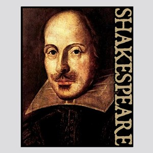 Shakespeare Portrait Small Poster