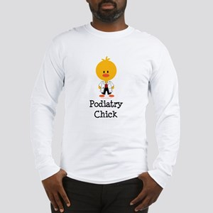 Podiatry Chick Long Sleeve T-Shirt