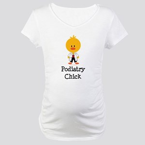 Podiatry Chick Maternity T-Shirt