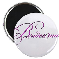 Bridesmaid - white 2.25