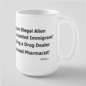 Undocumented Immigrant Large Mug