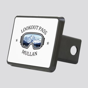 Lookout Pass - Mullan - Rectangular Hitch Cover