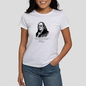Ben Franklin Loves Beer Women's T-Shirt