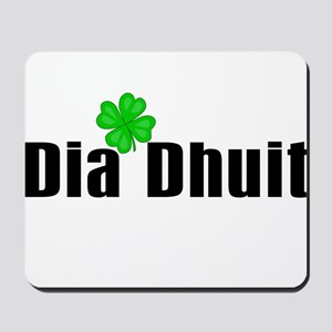 Hello (in Irish) Mousepad