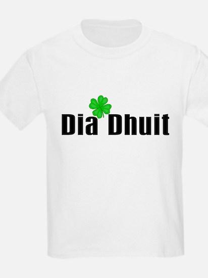 Hello (in Irish) Kids T-Shirt
