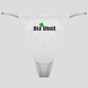 Hello (in Irish) Classic Thong