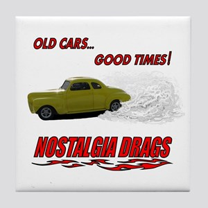 OLD CARS...GOOD TIMES! T-Shir Tile Coaster