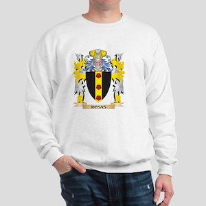 Rosas Family Crest - Coat of Arms Sweatshirt