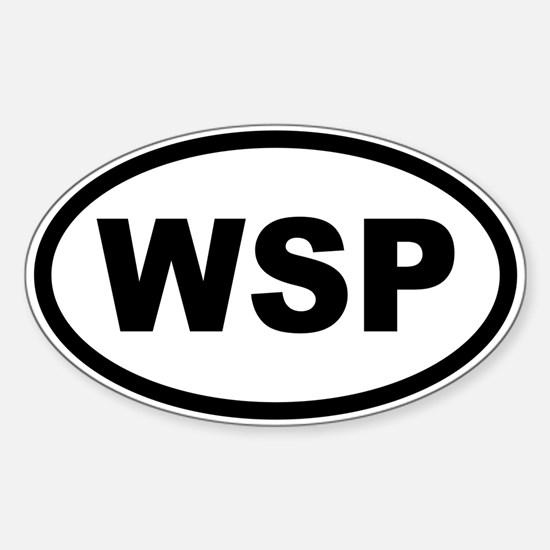WSP Sticker (Oval)