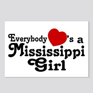 Everybody Hearts a MS Girl Postcards (Package of 8