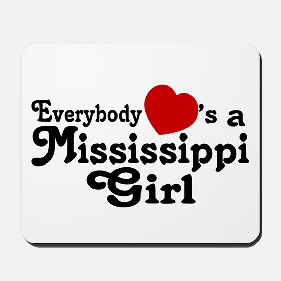 Everybody Hearts a MS Girl Mousepad