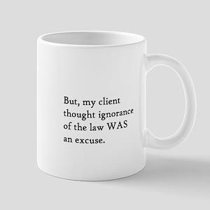 Client Ignorance 5 Mug