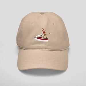 Sock Monkey Jet Ski Cap