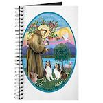 St Francis (W) - 2 Shelties (D&L) Journal