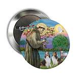 St Francis (W) - 2 Shelties (D&L) 2.25