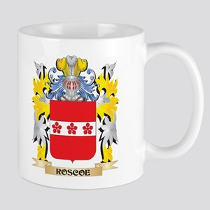 Roscoe Family Crest - Coat of Arms Mugs