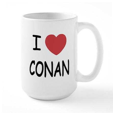 I heart Conan Large Mug