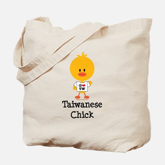 Taiwanese Chick Tote Bag