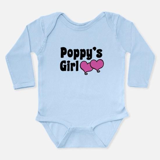Poppy's Girl Long Sleeve Infant Bodysuit
