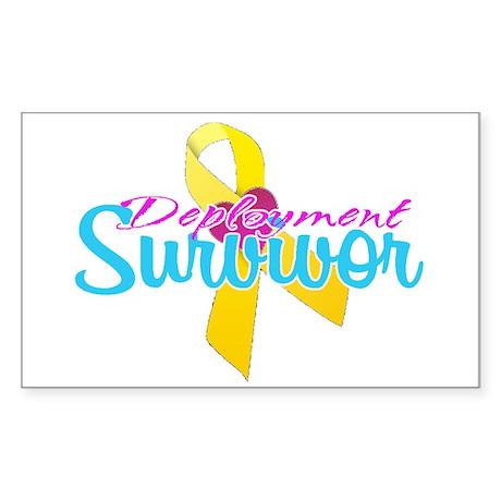 Survivor Sticker (Rectangle 10 pk)