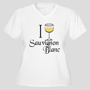 Sauvignon Blanc Women's Plus Size V-Neck T-Shirt
