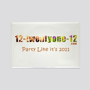 Party 2011 Rectangle Magnet