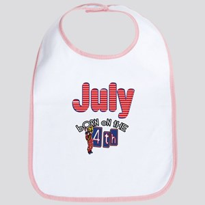 Born on the 4th of July Bib