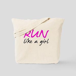 Run like a girl Tote Bag