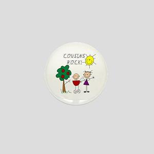 Cousins Rock Four Mini Button