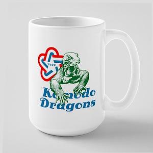 Vote Komodo Dragons  Large Mug