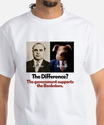 The Difference White T-Shirt